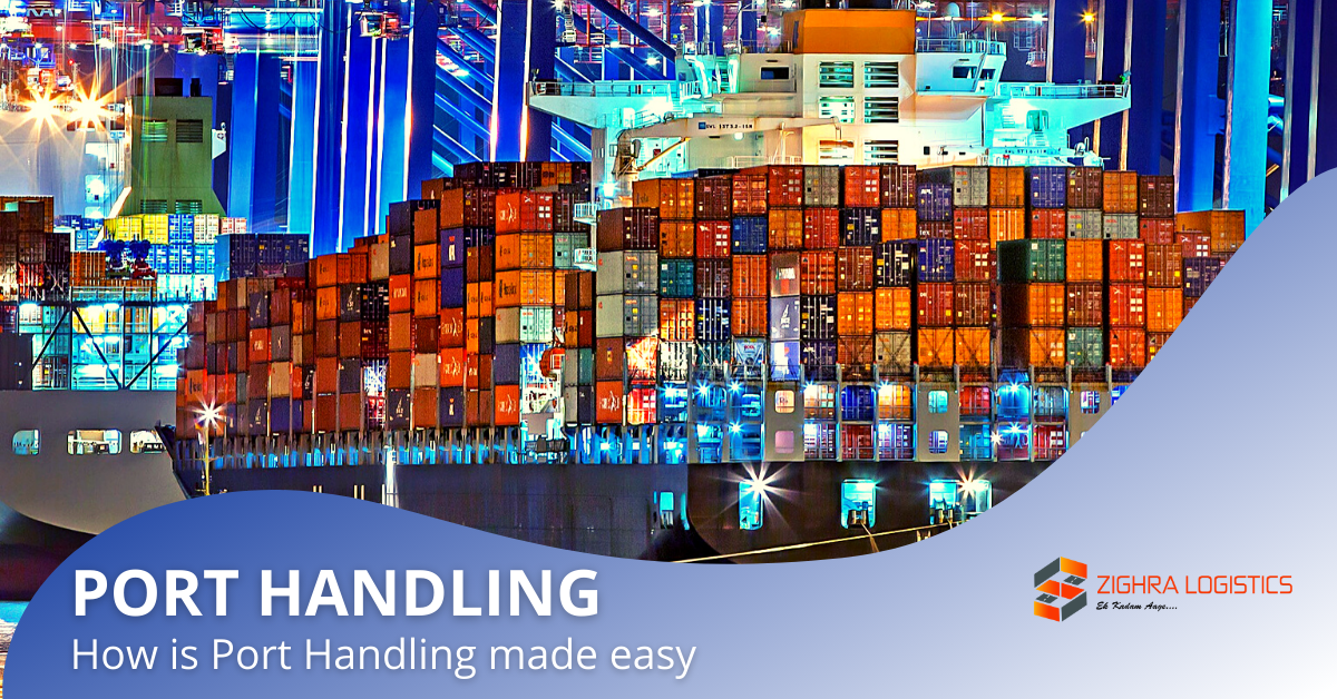 How is Port Handling made easy?